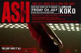 ASH London Koko Shows